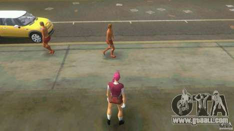 Girl Player mit 11skins for GTA Vice City twelth screenshot