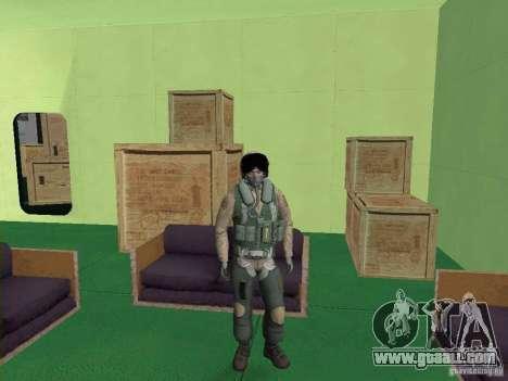 Military pilot for GTA San Andreas