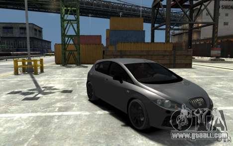 Seat Leon Cupra v.2 for GTA 4 back view