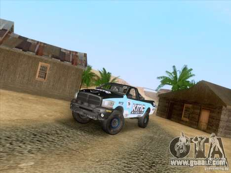Dodge Ram Trophy Truck for GTA San Andreas right view