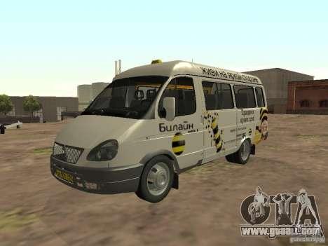 Gazelle 32213 Beeline for GTA San Andreas