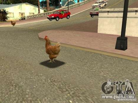 Chicken patrol for GTA San Andreas
