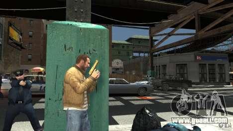 Gold Desert Eagle for GTA 4 third screenshot