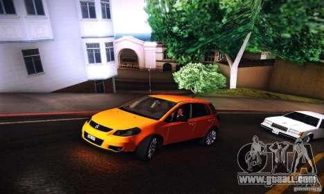 Suzuki SX4 Sportback Black 2011 for GTA San Andreas