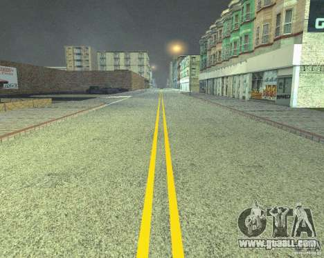 New roads in San Fierro for GTA San Andreas