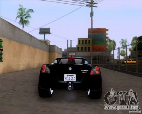Vauxhall VX220 Turbo for GTA San Andreas right view