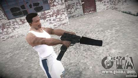 Weapon Pack by GVC Team for GTA San Andreas forth screenshot
