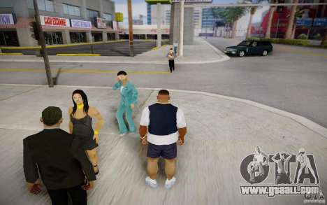 People talking on the phone for GTA San Andreas second screenshot