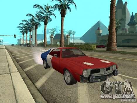 AMC Javelin 1970 for GTA San Andreas right view