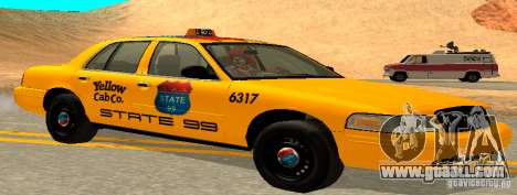 Ford Crown Victoria 2003 Taxi for state 99 for GTA San Andreas