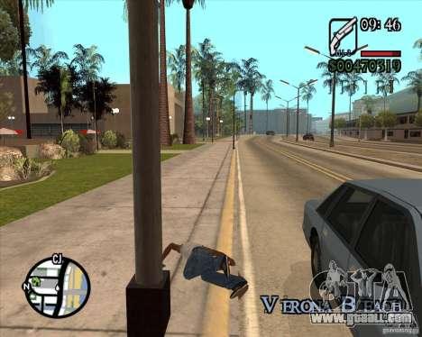 Endorphin Mod v.3 for GTA San Andreas ninth screenshot
