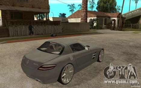 Mercedes-Benz SLS for GTA San Andreas right view
