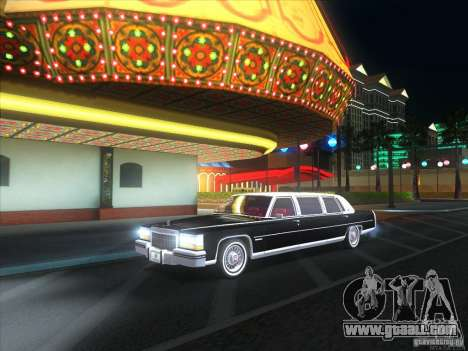 Cadillac Fleetwood Limousine 1985 for GTA San Andreas right view