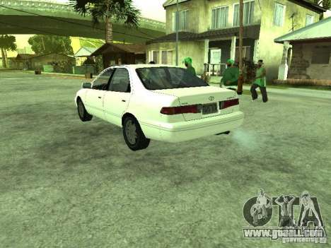 Toyota Camry 2.2 LE for GTA San Andreas back left view