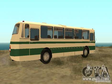 LAZ 699R for GTA San Andreas back left view