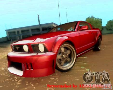 Ford Mustang GT 2005 Tunable for GTA San Andreas right view
