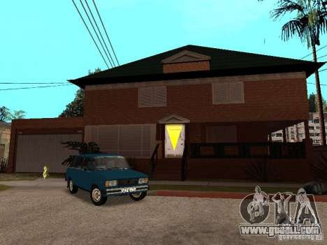 CJ's House in Russian for GTA San Andreas