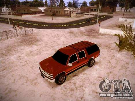 Chevrolet Suburban 1998 for GTA San Andreas left view