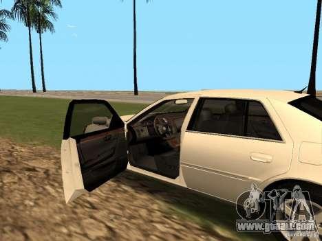 Cadillac DTS 2010 for GTA San Andreas back view