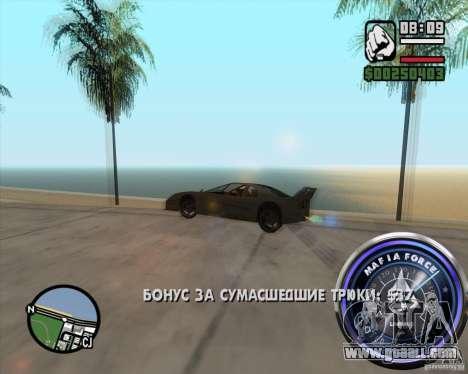 Speedometer-2 for GTA San Andreas forth screenshot