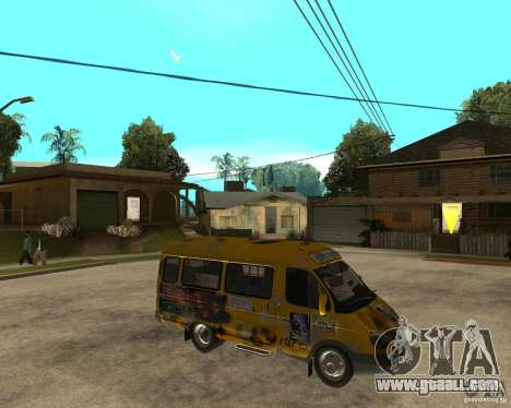 Gaz Gazelle 2705 Minibus for GTA San Andreas right view