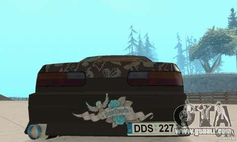 Nissan Silvia S13 NonGrata for GTA San Andreas inner view