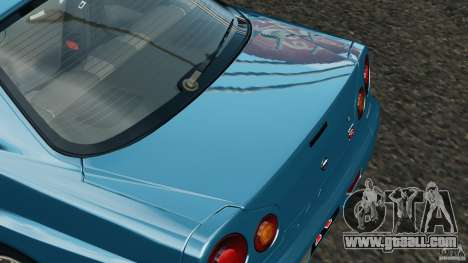 Nissan Skyline GT-R R34 2002 v1.0 for GTA 4
