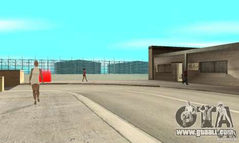 BikersInSa (The BIKERS In SAN ANDREAS) for GTA San Andreas forth screenshot
