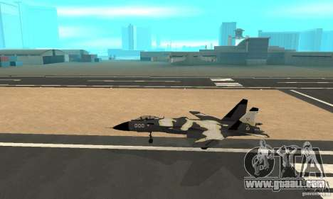 "Su-47 ""berkut"" Cammo for GTA San Andreas"