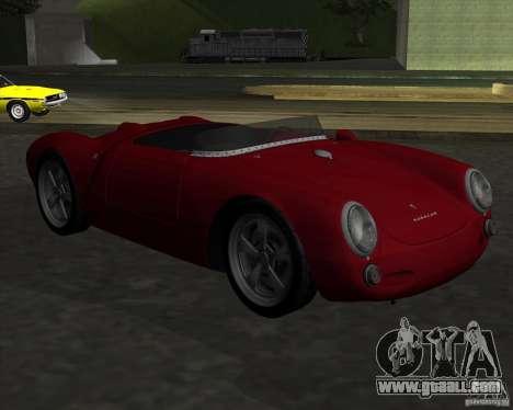 Porsche 550 for GTA San Andreas