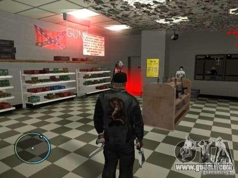 Russian Ammu-nation for GTA San Andreas sixth screenshot