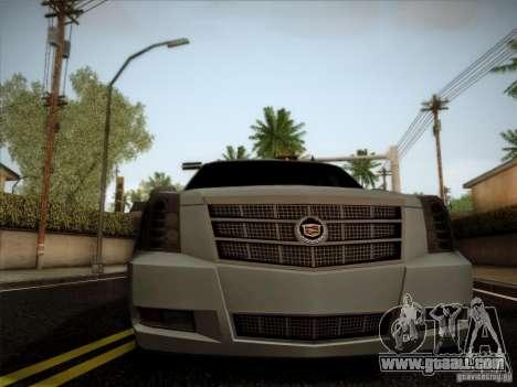 Cadillac Escalade ESV Platinum for GTA San Andreas right view