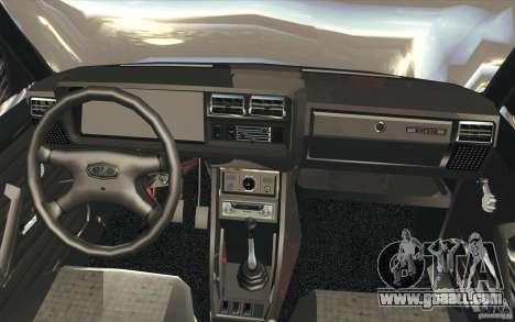Vaz-2107 Lada Street Drift Tuned for GTA San Andreas upper view