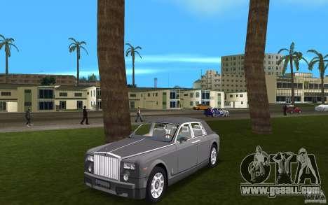 Rolls Royce Phantom for GTA Vice City