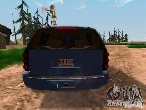 GMC Yukon Denali XL for GTA San Andreas right view