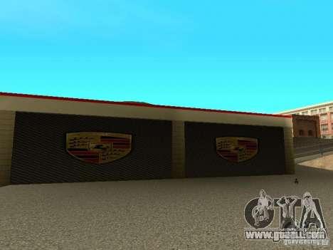 Porsche Garage for GTA San Andreas forth screenshot