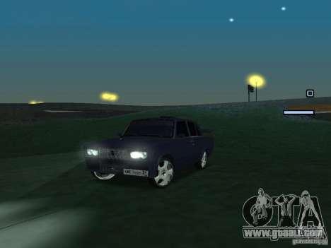 VAZ 2105 Drift King for GTA San Andreas left view