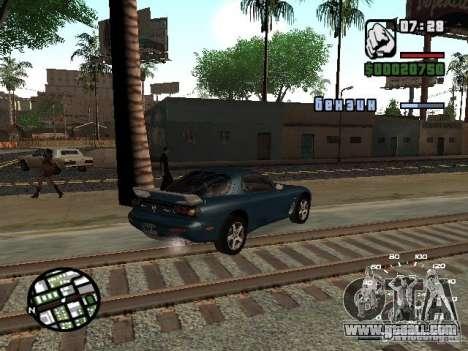 Mazda RX-7 for GTA San Andreas right view