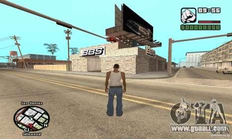 BBS PaynSpray for GTA San Andreas