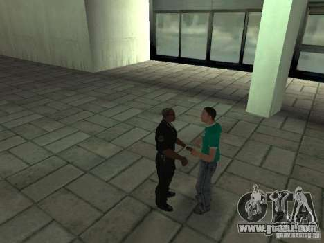 SFnews or the opportunity to give an interview for GTA San Andreas forth screenshot