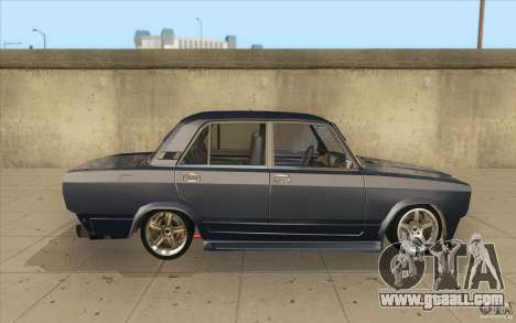 Vaz-2107 Lada Street Drift Tuned for GTA San Andreas inner view