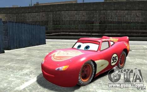 Lighting McQueen for GTA 4