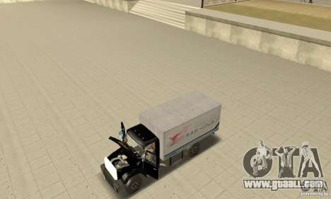 ZIL 433112 with tuning for GTA San Andreas back view