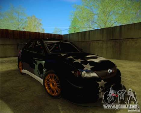 Subaru Impreza WRX STI 2011 for GTA San Andreas wheels
