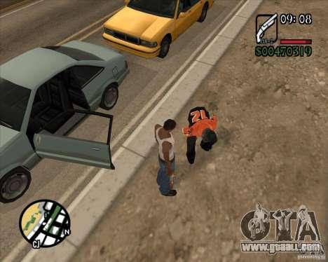 Endorphin Mod v.3 for GTA San Andreas sixth screenshot
