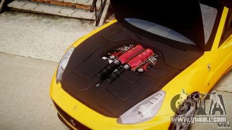 Ferrari California v1.0 for GTA 4 inner view