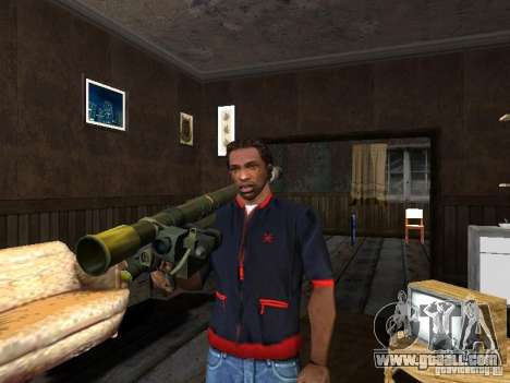 MANPADS Needle 2 for GTA San Andreas