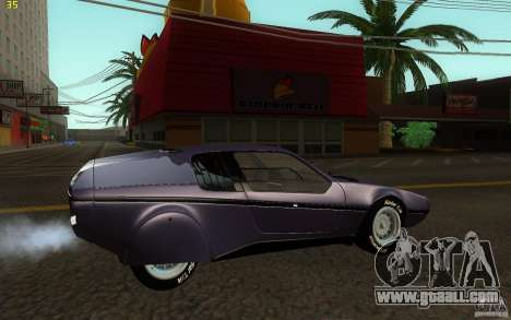 BMW Turbo 1972 for GTA San Andreas left view
