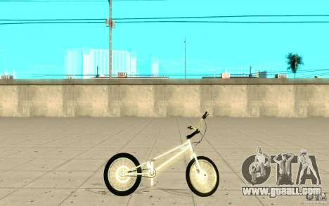 Trail Bike Chrome for GTA San Andreas left view