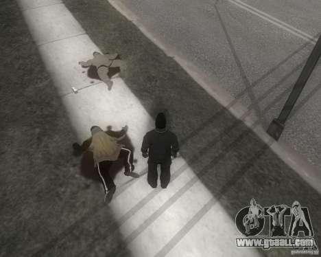GTA SA - Black and White for GTA San Andreas second screenshot